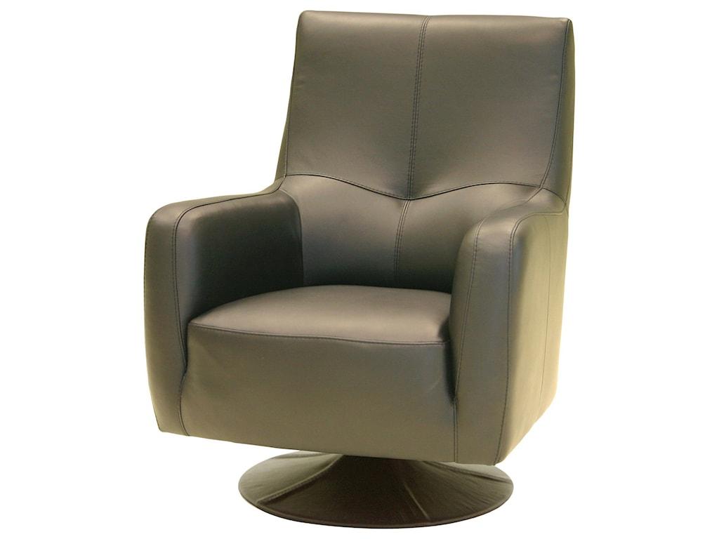 HTL 2295Upholstered Swivel Chair