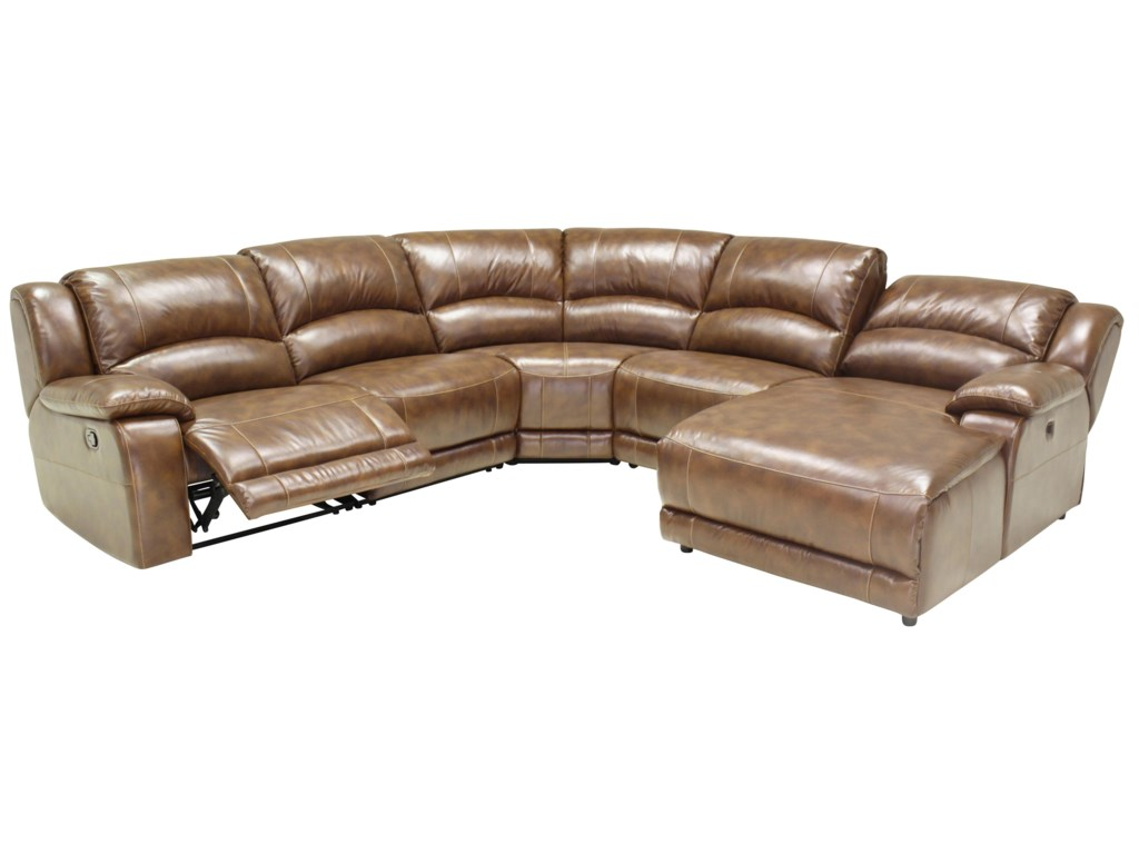 HTL 2644Sectional Sofa with Adjustable Backrest