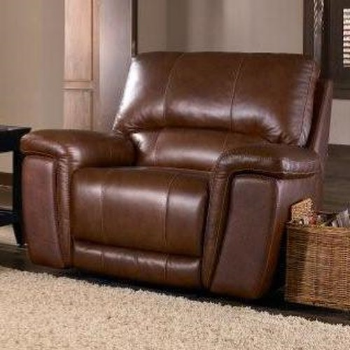 Belfort Select Skyler 2678 Leather Glider Recliner with Swivel