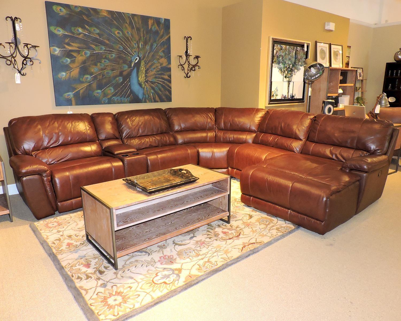 Elegant Belfort Select Skyler 2678 Reclining Sectional Sofa