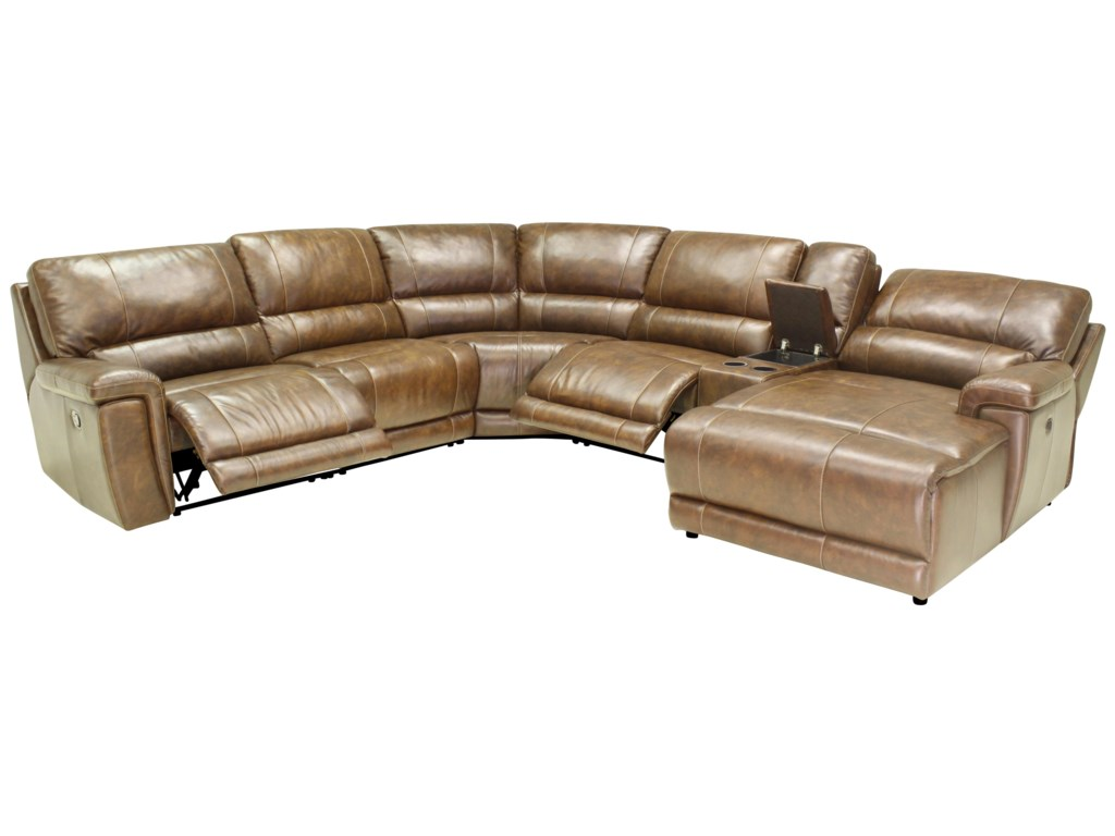 HTL 2678CSReclining Sectional Sofa
