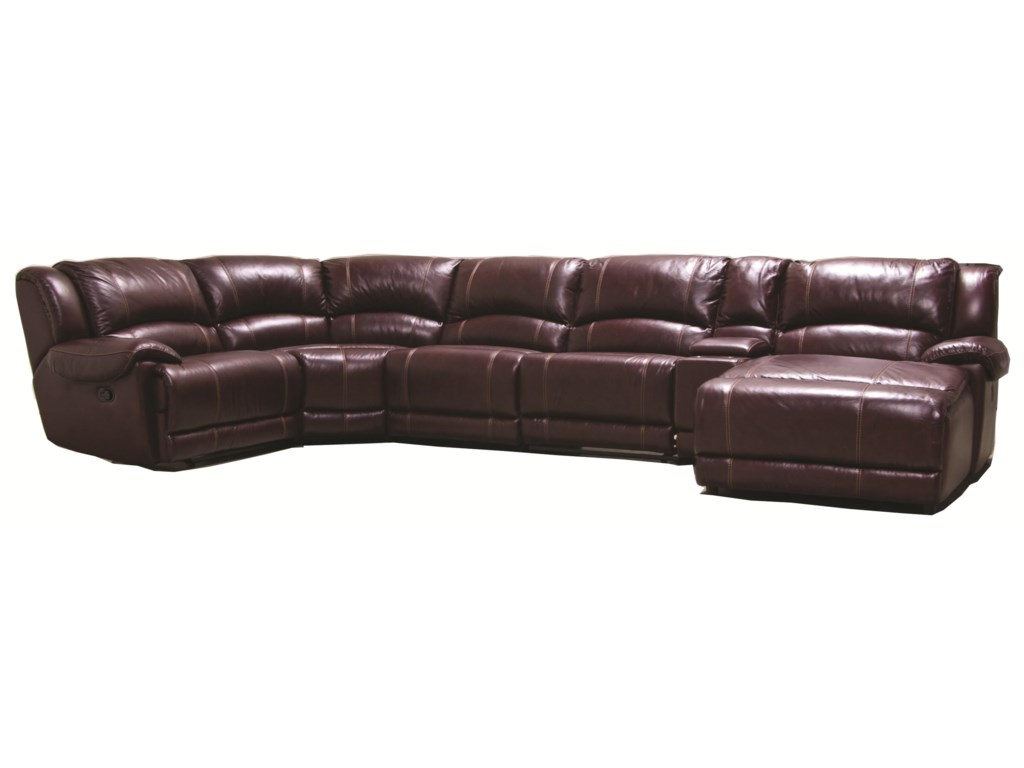 HTL 2681Reclining Sectional Sofa