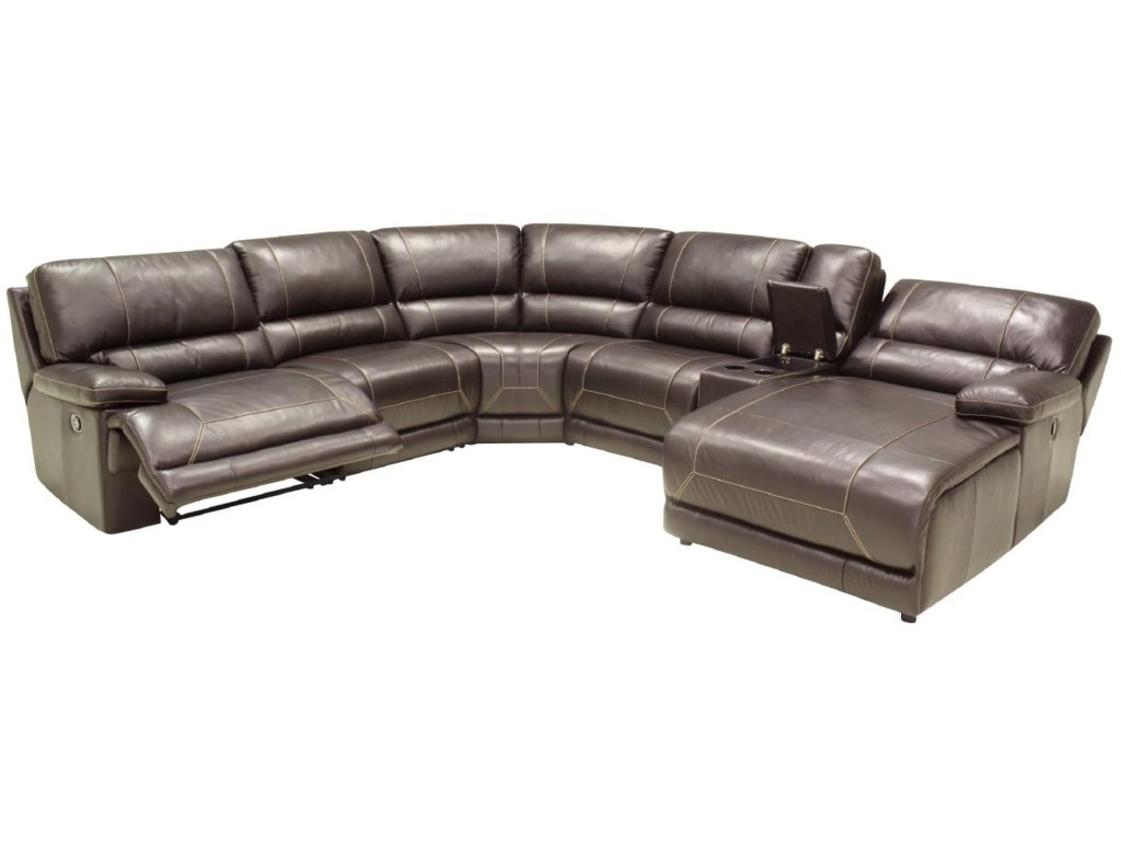 HTL 2847Reclining Sectional