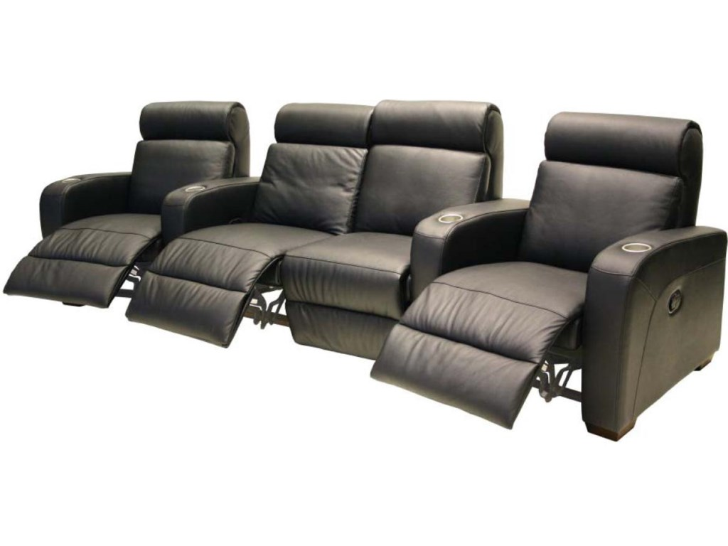 HTL 8071Leather Theater Seating Group