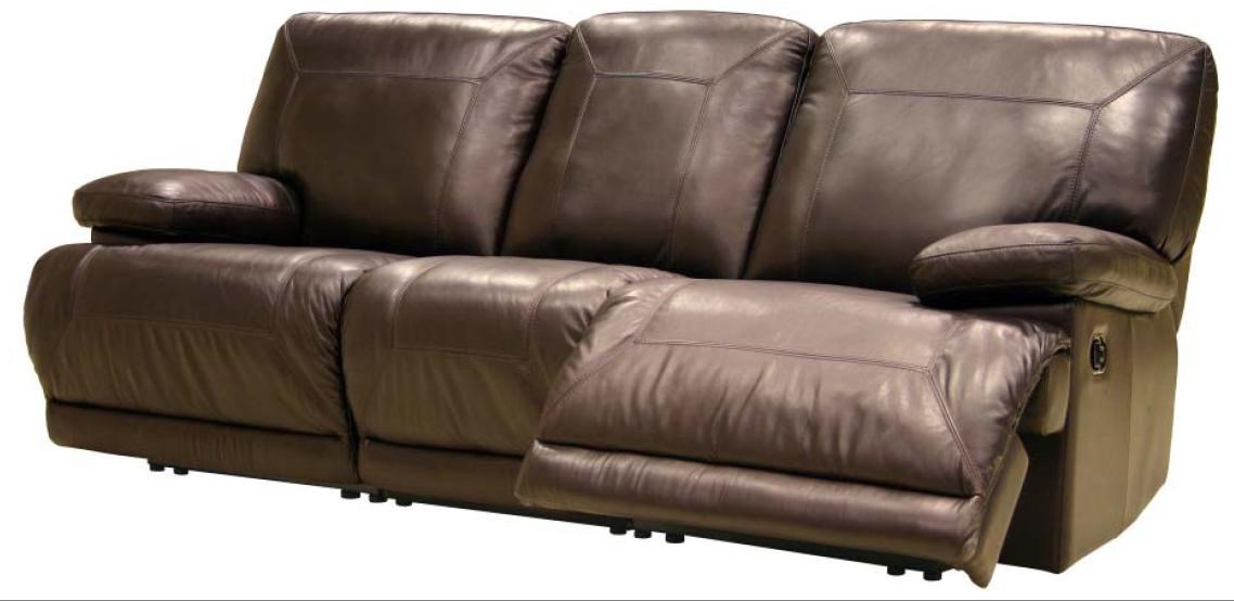 leather reclining sofa by htl
