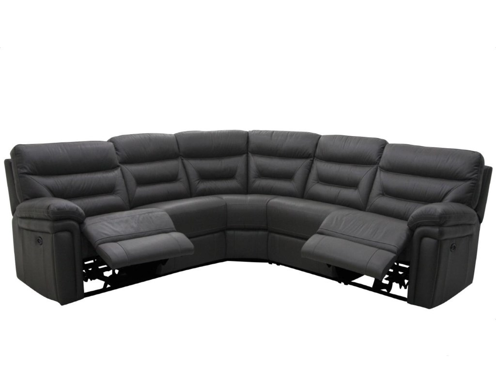 HTL 8813-Y5 Piece Power Reclining Sectional