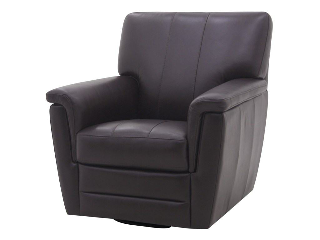 HTL 9004Leather Accent Chair