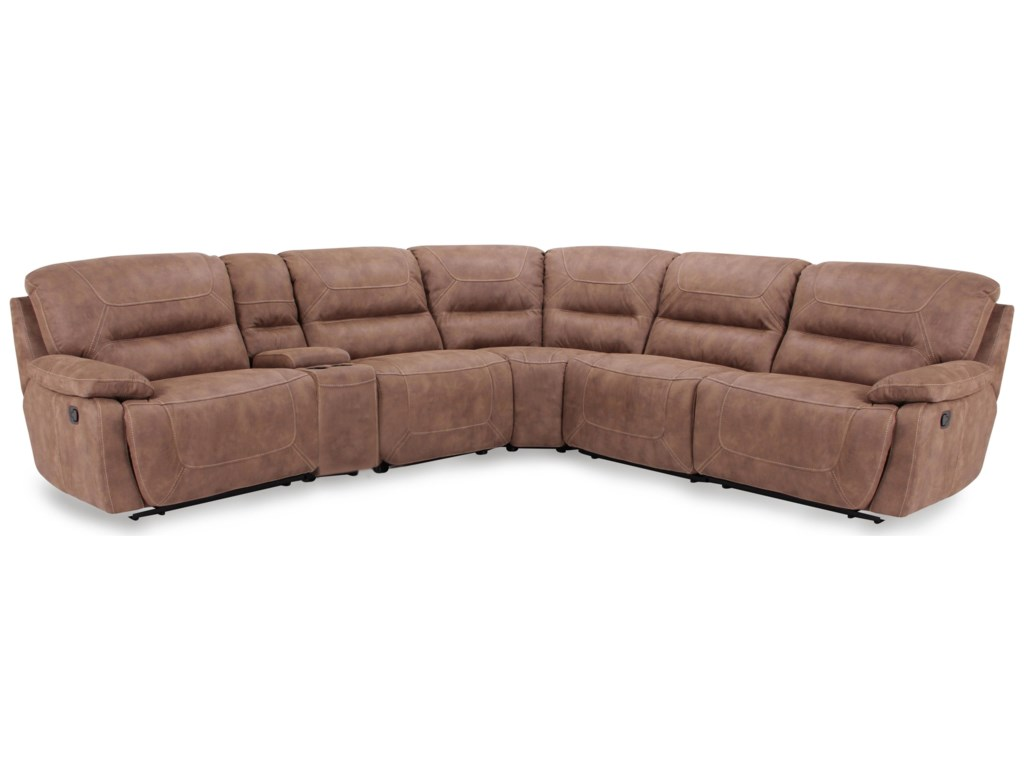 Warehouse M 9160Power Reclining Sectional