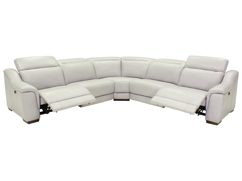 power sofas mechanism sectional blue leather powered reclining with sofa sectionals chairs corner and
