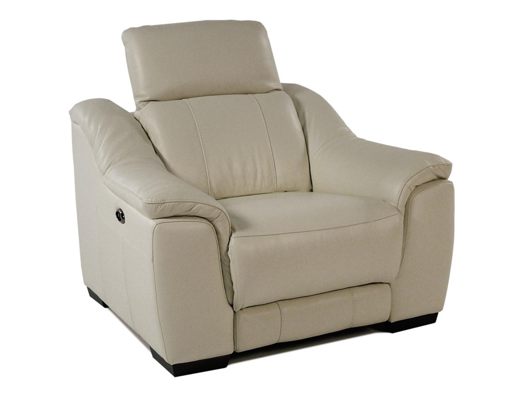 Giovani IllusionPower Leather Recliner