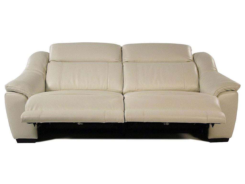 Giovani IllusionPower Reclining Leather Sofa