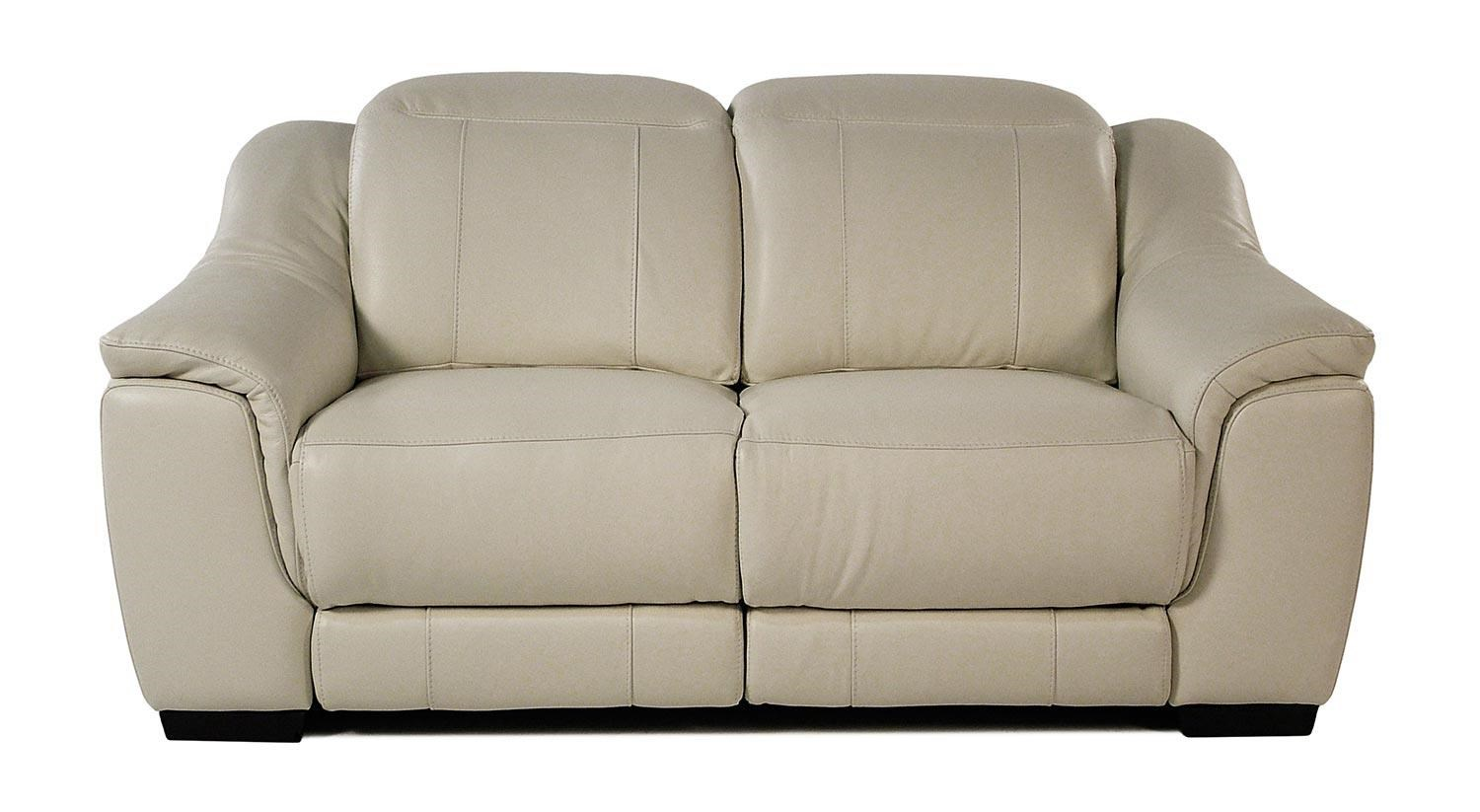 Giovani Illusion Power Reclining Leather Loveseat  sc 1 st  Rotmans : leather loveseat power recliner - islam-shia.org