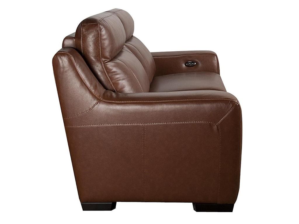 San Lorenzo AndyAndy Leather Match Power Sofa