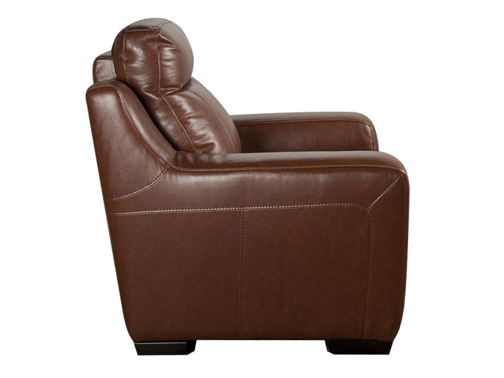 San Lorenzo AndyAndy Leather Match Power Recliner