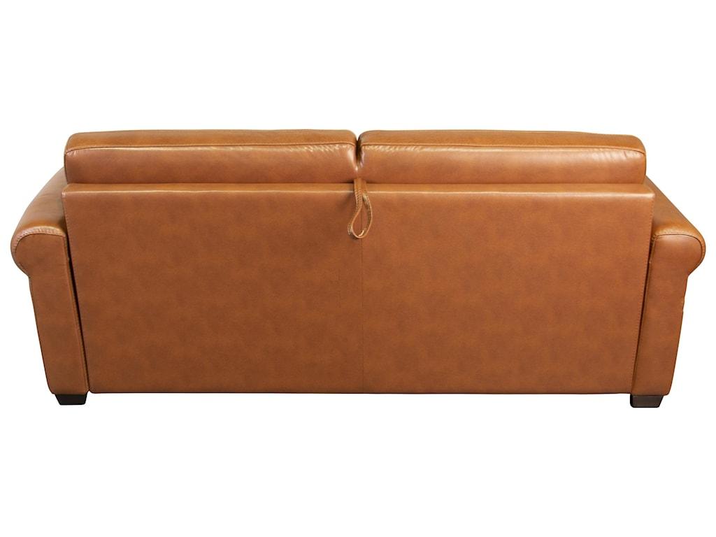 San Lorenzo ArleyArley 100%  Leather Sofa Sleeper