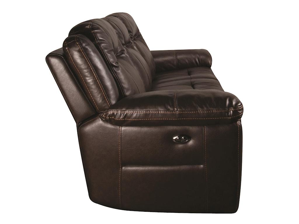 HTL HeathHeath Power Leather Match Sofa