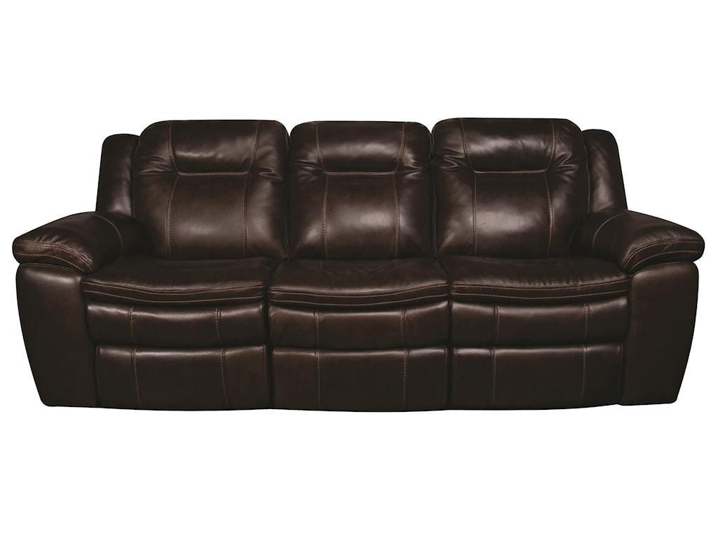 Heath Heath Power Leather Match Sofa