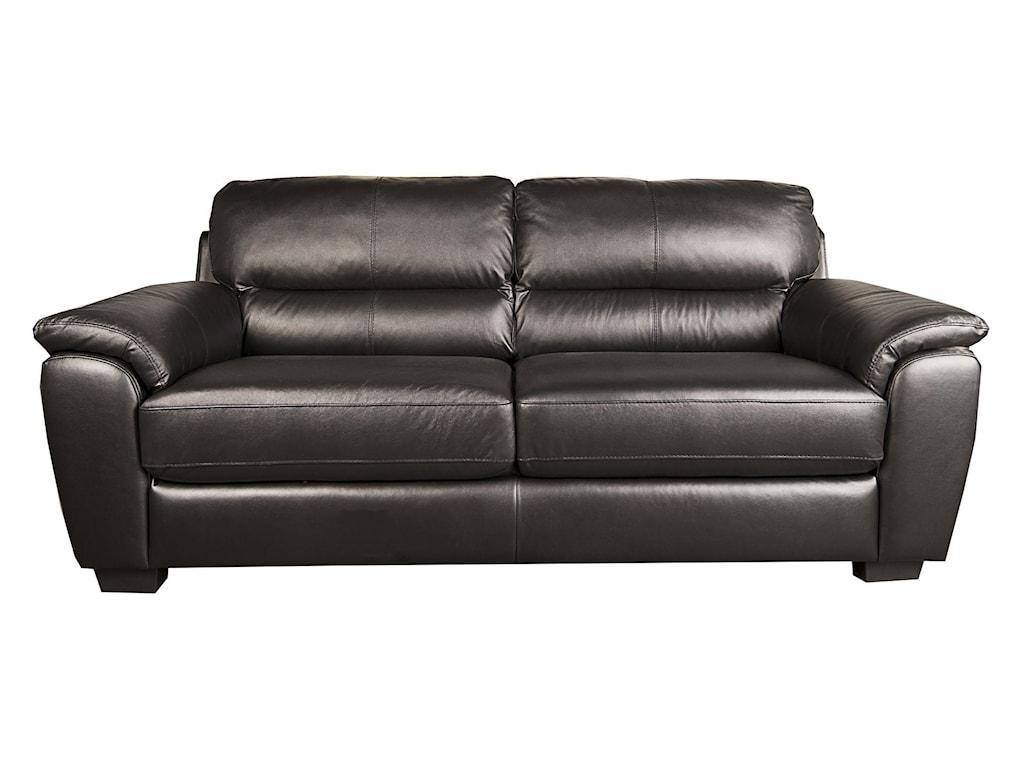 San Lorenzo Holtholt 100 Leather Sofa