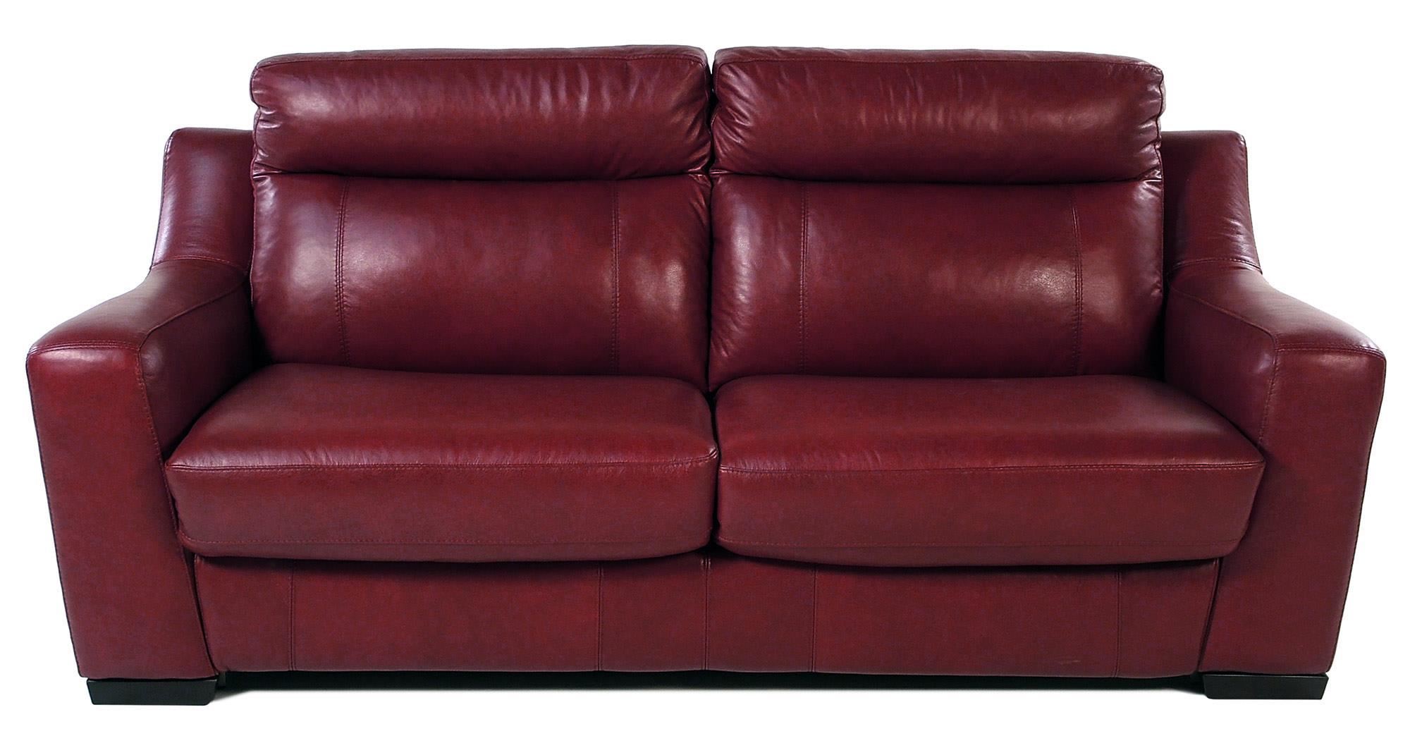 Delicieux Giovani BartoliniFull Size Leather Sleep Sofa ...