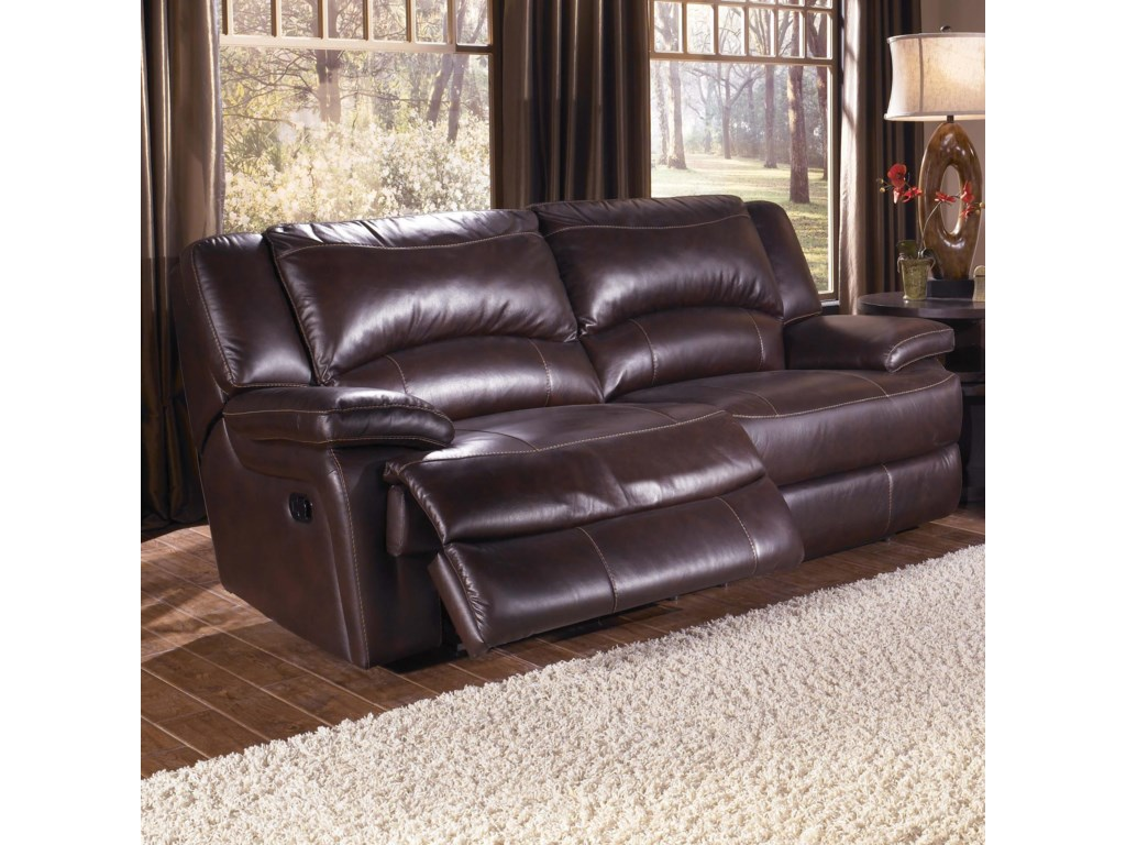 Htl T118double Reclining Leather Sofa
