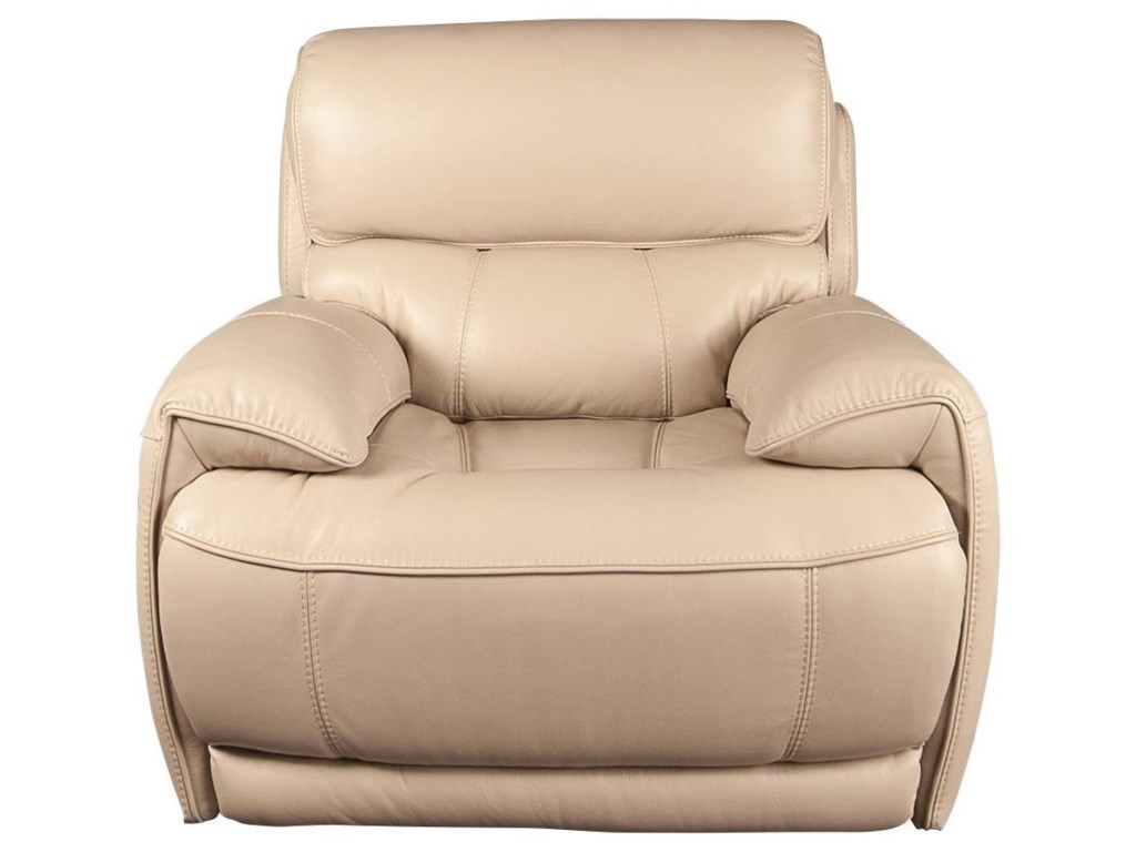 San Lorenzo WesterWester Leather Match Recliner
