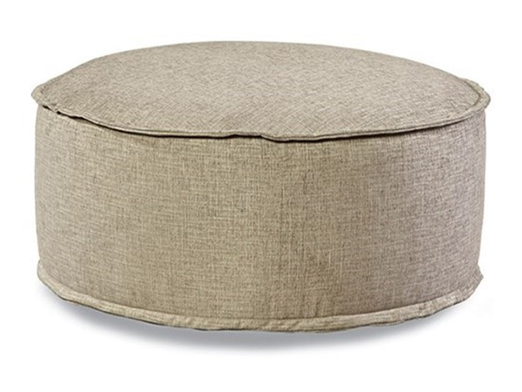 Huntington House 2021Customizable Cocktail Ottoman