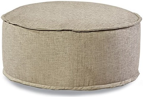 Huntington House 2021 Customizable Round Cocktail Ottoman