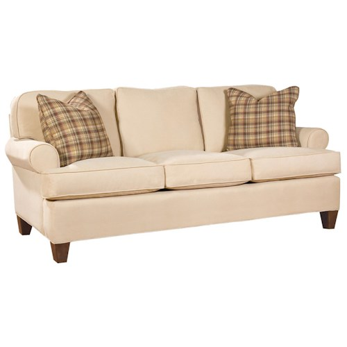 Huntington House 2041 Customizable Stationary Sofa for Living Rooms
