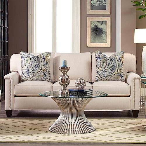 Geoffrey Alexander 2042 Customizable Three Seat Sofa