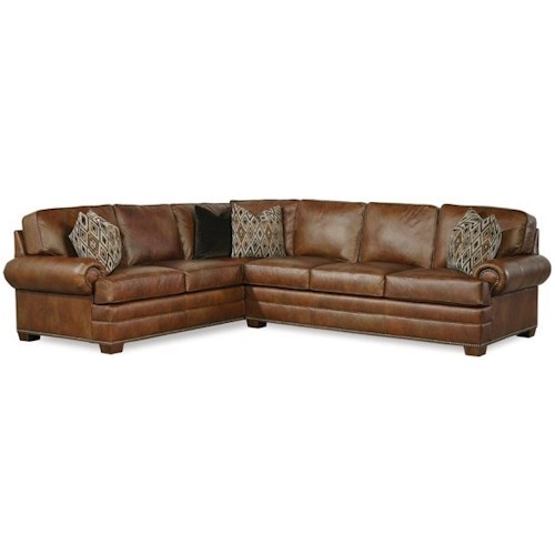 Geoffrey Alexander 2061 L Shaped Sectional Sofa