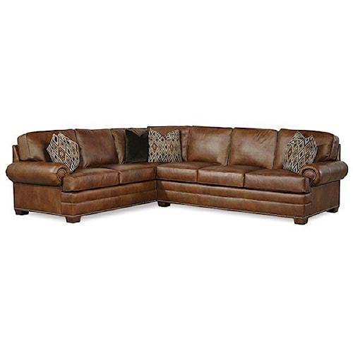 Huntington House 2061 L Shaped Sectional Sofa