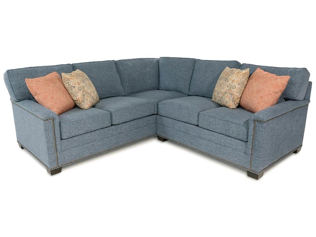 Huntington House Cassidy2PC Sectional Sofa