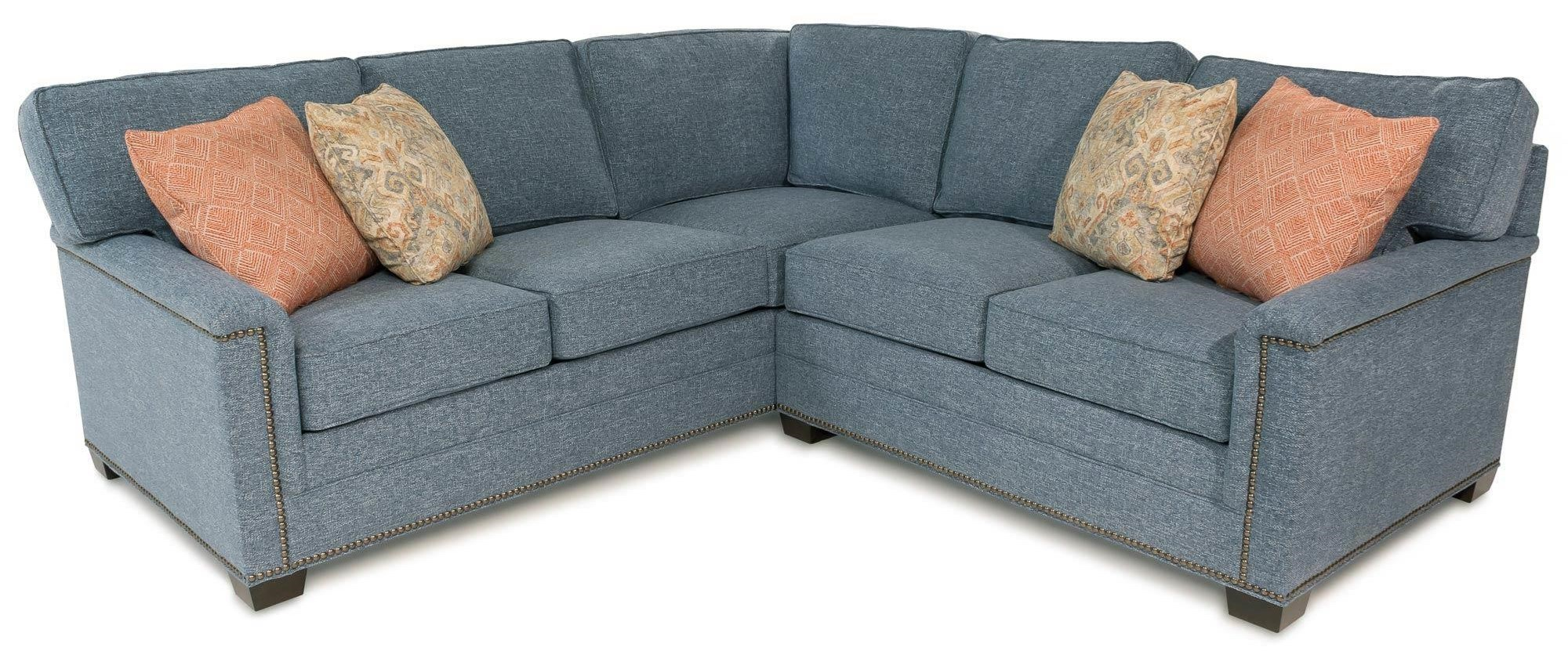 Cassidy 2PC Sectional Sofa W/ Nailhead Trim Detailing By Huntington House  At Rotmans