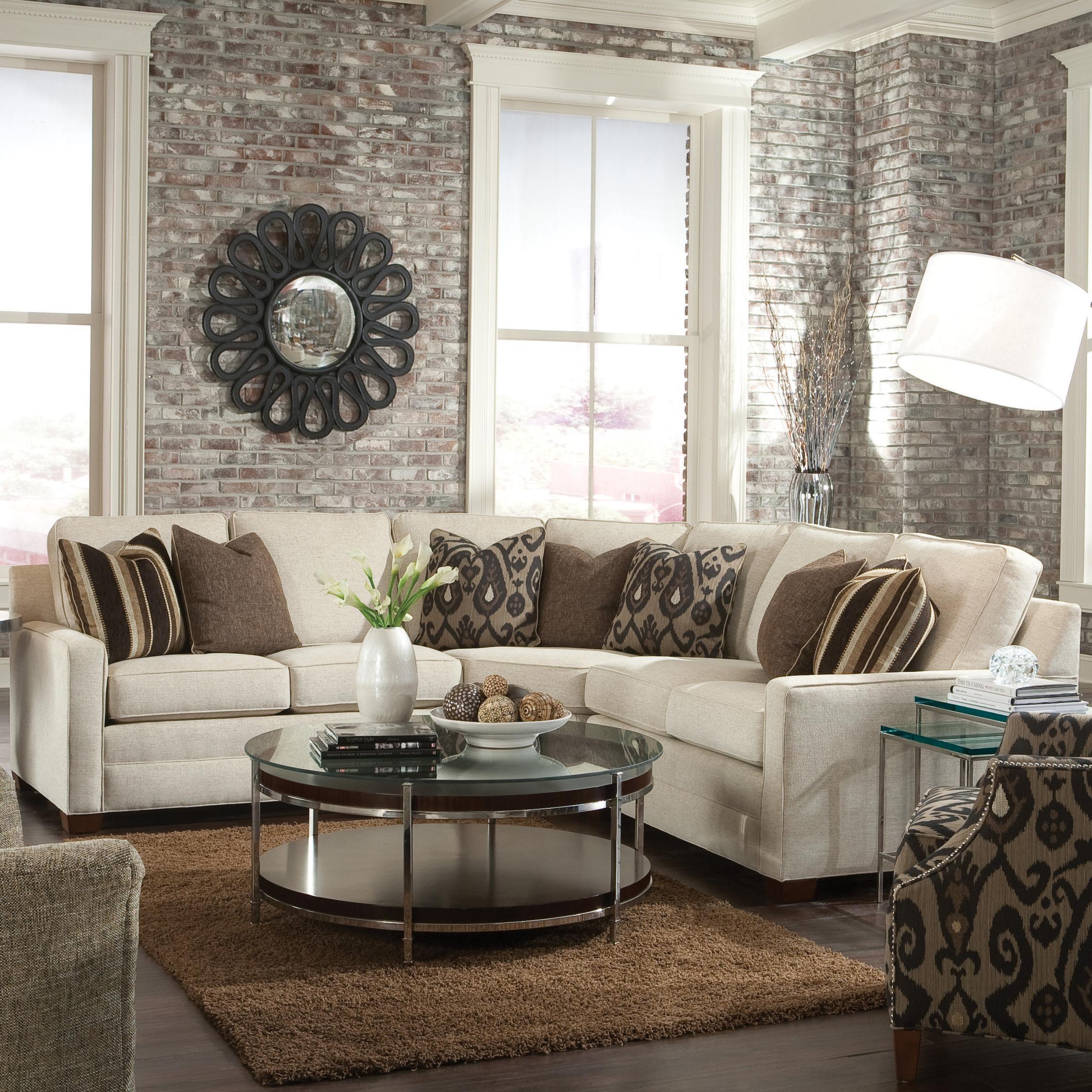 huntington house 2062 customizable contemporary sectional sofa with rh wayside furniture com wedge sectional sofa sectional sofa wedge dimensions