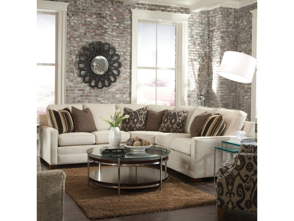 Huntington House 2062Sectional Sofa