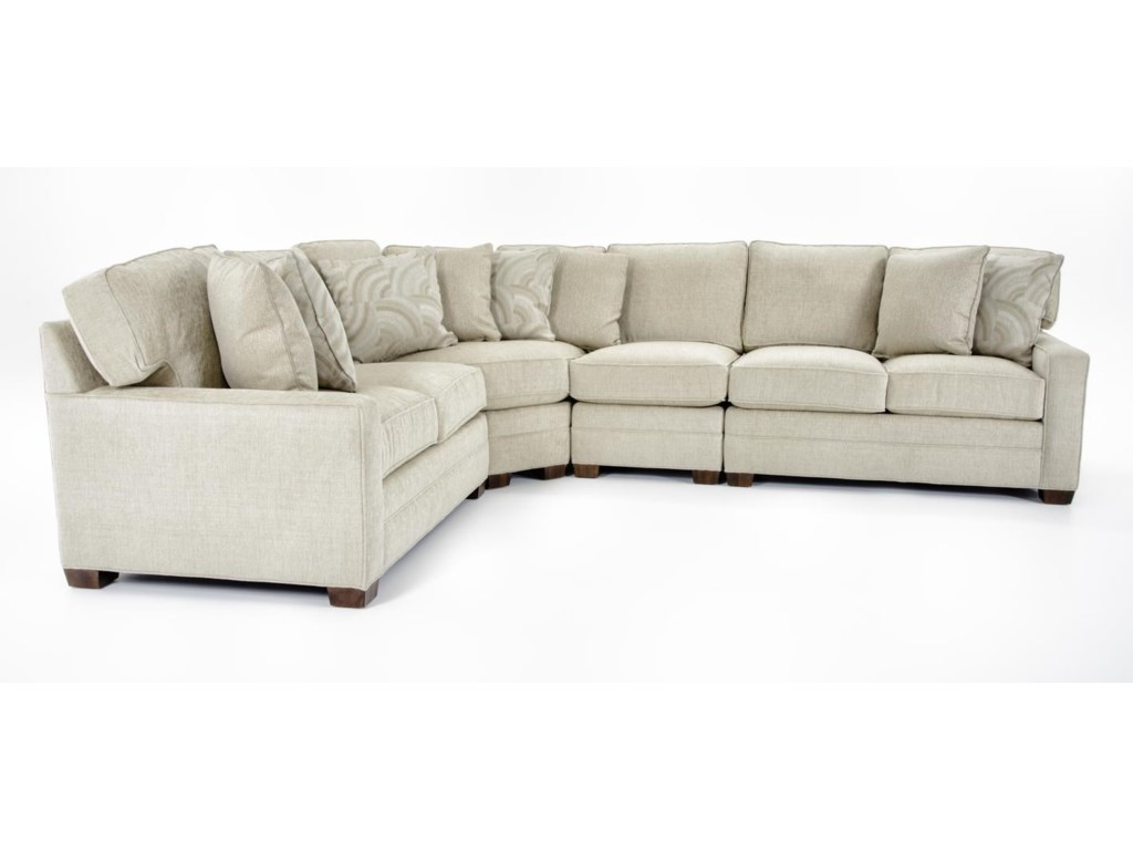 Huntington House 20624 Pc Sectional Sofa