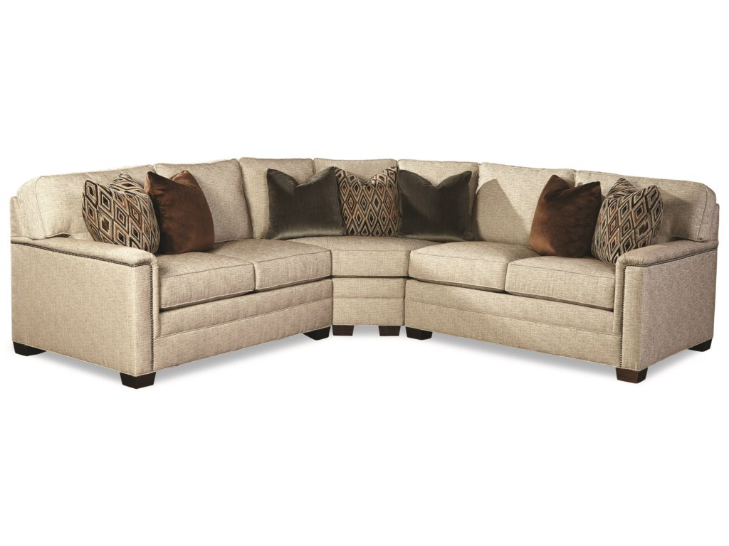 Huntington House 2062Customizable Sectional Sofa
