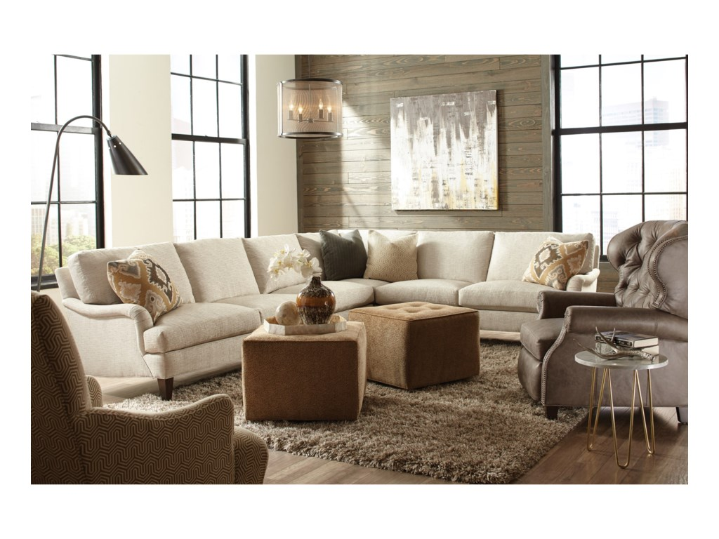 Huntington House 21002 Pc Sectional Sofa