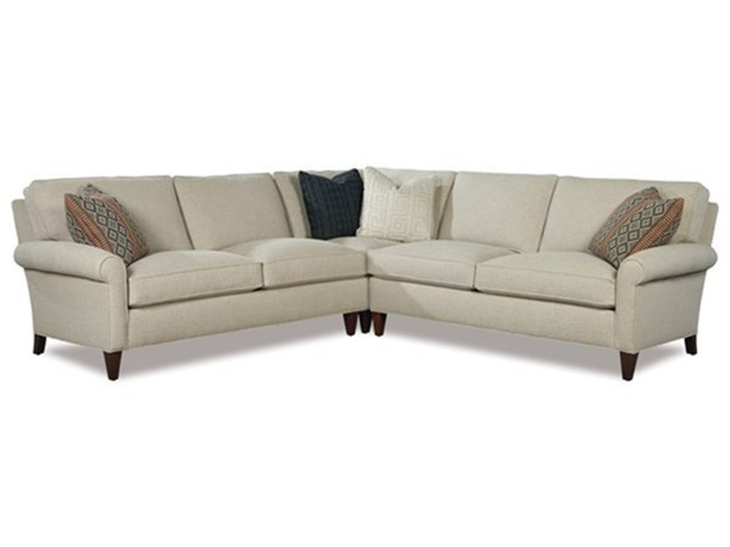 Huntington House Harper3 Pc Sectional Sofa