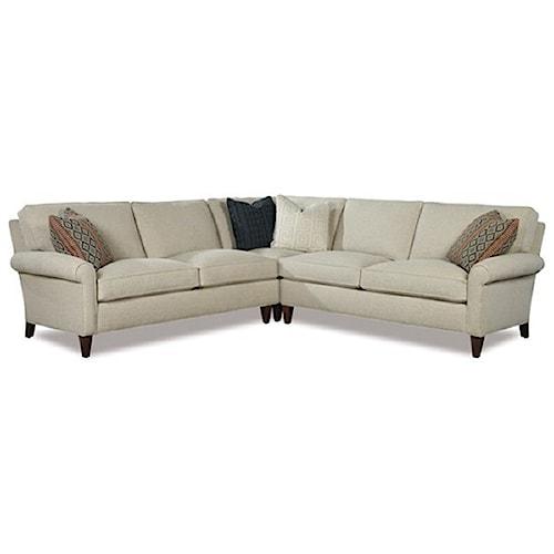 Geoffrey Alexander 2100 Casual Three Piece Sectional Sofa