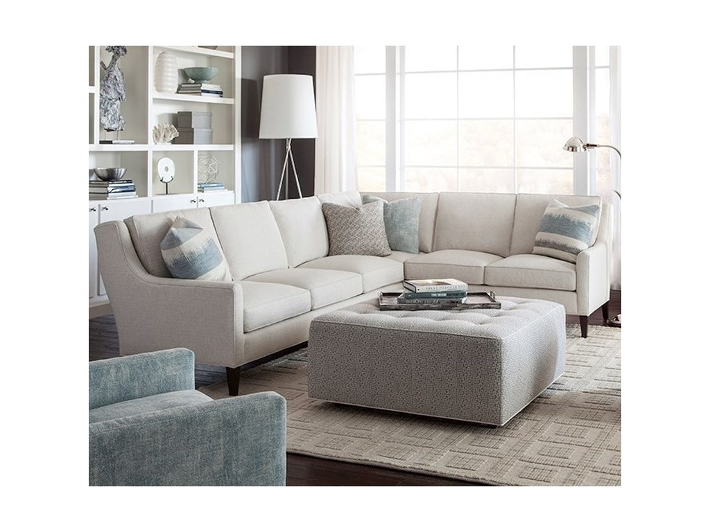 Huntington House 2200Sectional Sofa