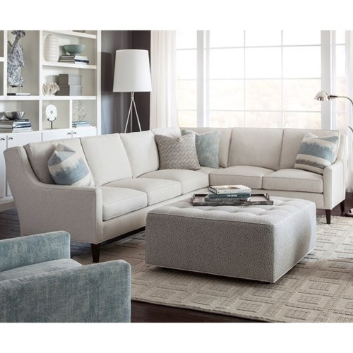 Elegant Huntington House 2200 Contemporary Sectional Sofa with Track Arms Minimalist - Review Huntington House sofa Fresh