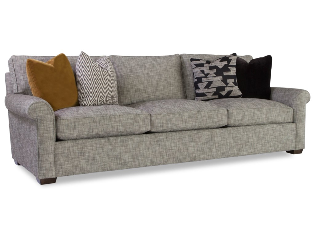 Huntington House PlushCustomizable Sofa w/ Rolled Arms