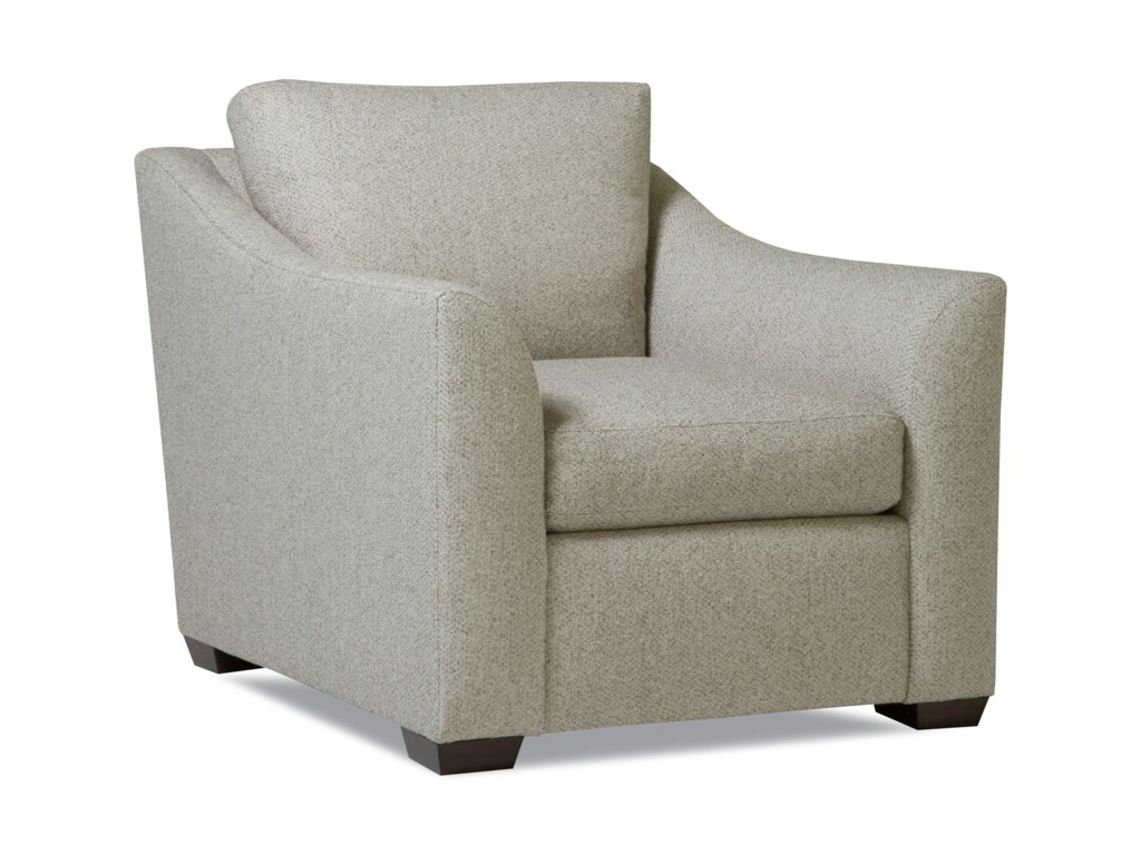 Huntington House PlushChair w/ Flared Arms