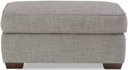 Huntington House Plush Ottoman