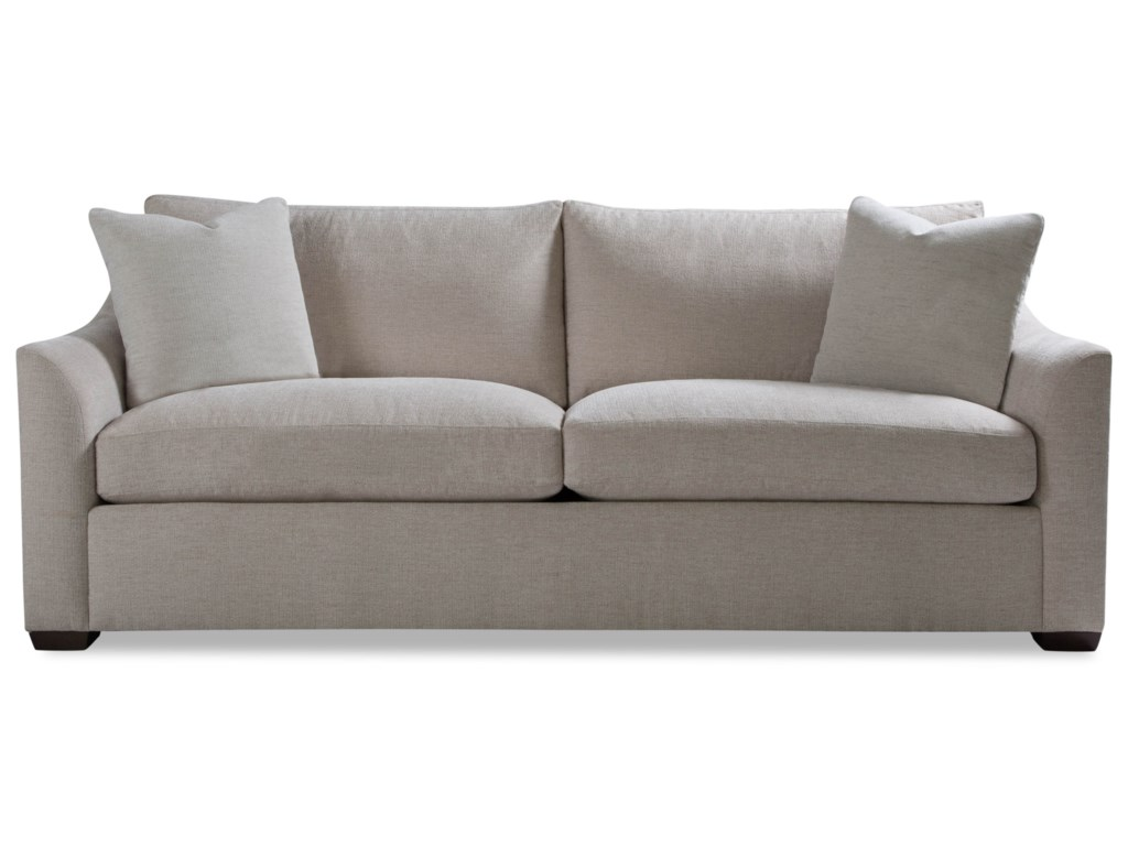 Geoffrey Alexander PlushTwo Cushion Sofa w/ Flared Arm
