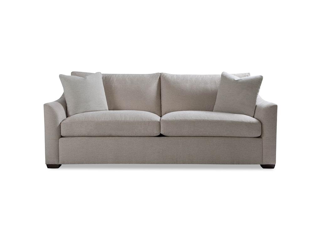 Huntington House PlushTwo Cushion Sofa w/ Flared Arm