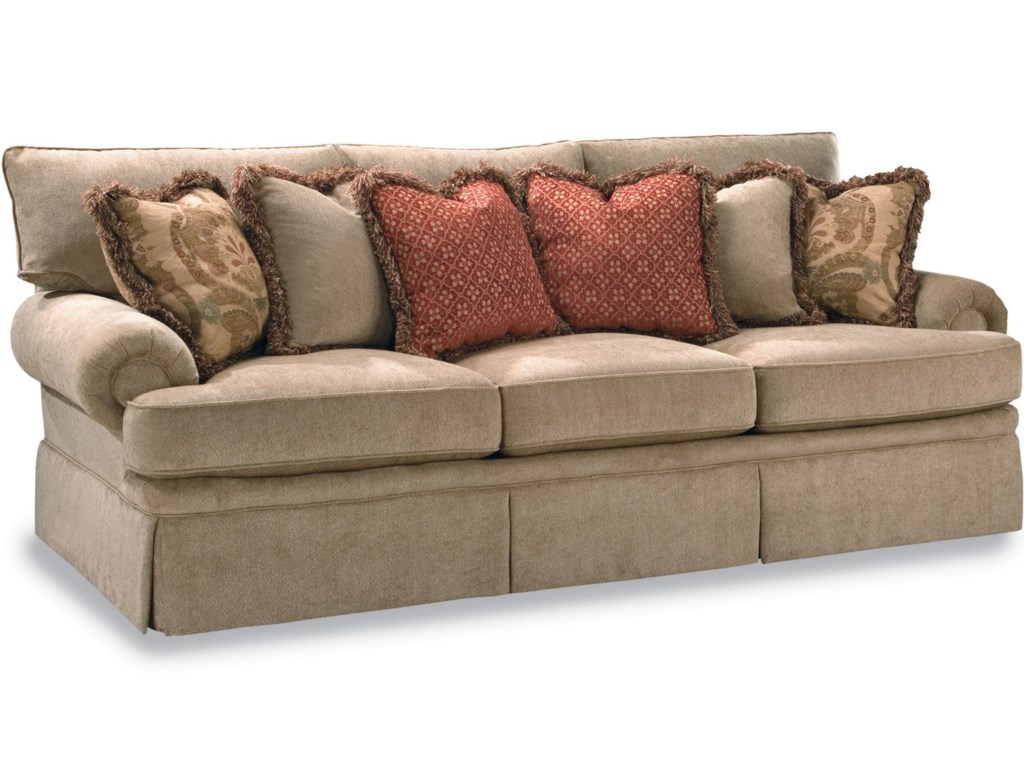 Huntington House 2081Sofa with Rolled Arm