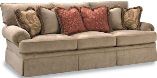 Geoffrey Alexander 2081 Sofa with Low Profile Rolled Arm