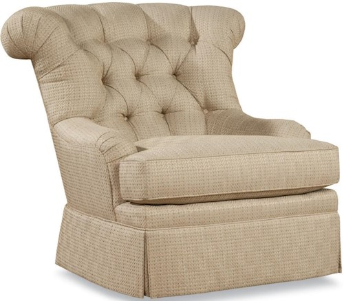 Huntington House 3319 Traditional Chair with Tight Button-Tufted Back
